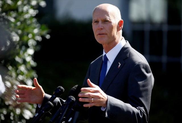 Gobernador de Florida Rick Scott. Foto: Archivo REUTERS/Joshua Roberts