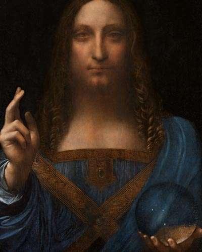 """Salvator Mundi"" de Leonardo Da vinci"