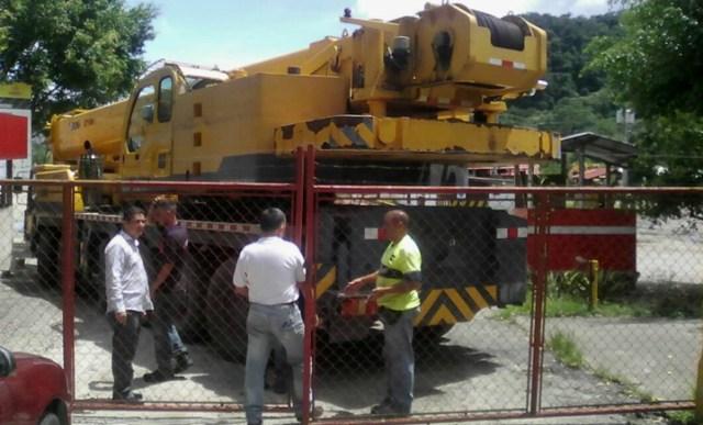 Trabajadores impidieron que se llevaran maquinaria de Caimta