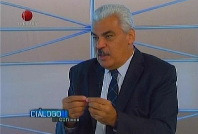 Ángel Oropeza, coordinador político de la MUD // Foto captura tv