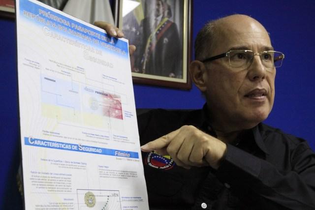 Juan Carlos Dugarte, director del Saime // FOTO AVN