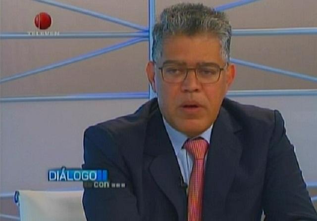 Elías Jaua, dirigente oficialista // Foto captura tv