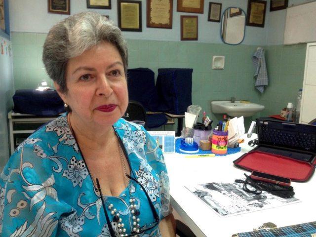 La especialista indicó que 60% de los pacientes por desnutrición grave que reciben en el hospital son lactantes (Foto Oscar Medina)