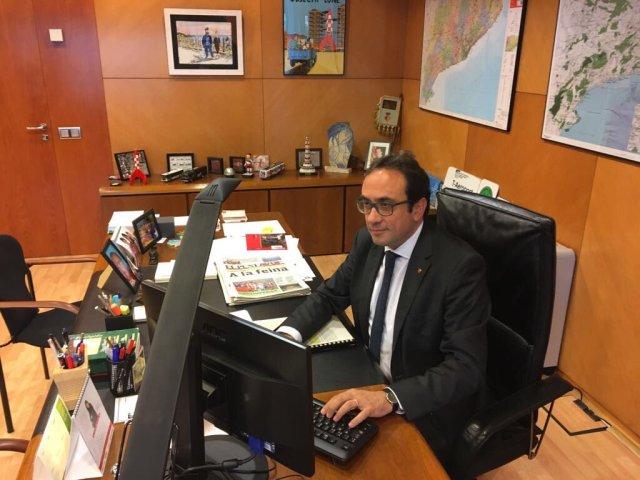 Rull acude a su despacho