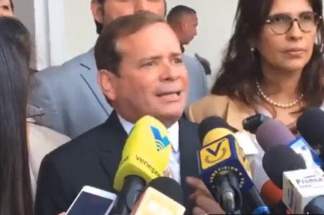 Juan Pablo Guanipa, gobernador electo por el estado Zulia // Foto captura tv