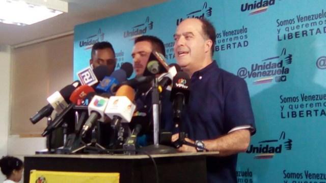 Julio Borges, presidente de la AN y diputado por PJ // Foto @unidadvenezuela