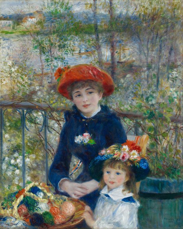 «En la terraza (dos hermanas)», de Auguste Renoir - ABC