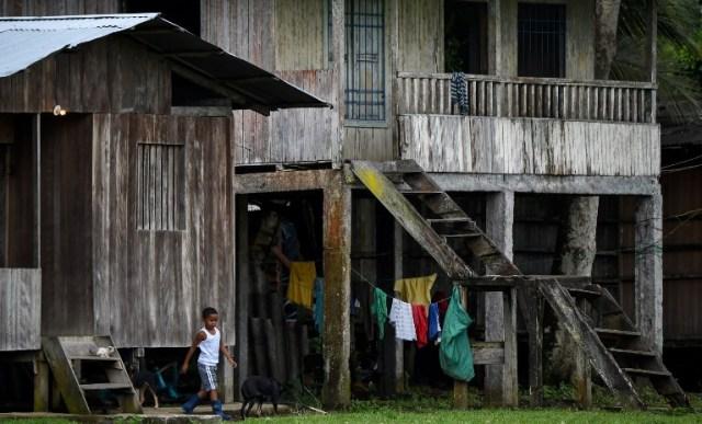 Una vista de casas en Pital de la Costa, municipio de Tumaco, departamento de Nariño, Colombia el 31 de octubre de 2017. / Raul Arboleda