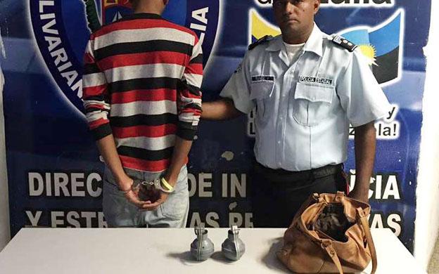 El detenido quedó a la disposición del Ministerio Público