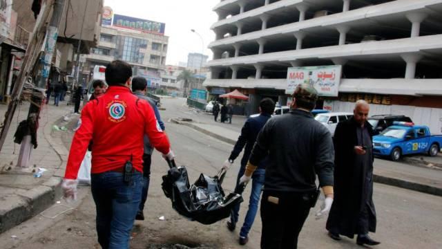 Atentado en Bagdad / Foto: Reuters