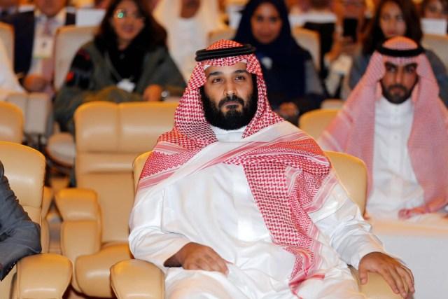 El Príncipe Heredero de Arabia Saudita, Mohammed bin Salman, asiste a una conferencia en Arabia Saudita, el 24 de octubre de 2017. REUTERS / Hamad I Mohammed