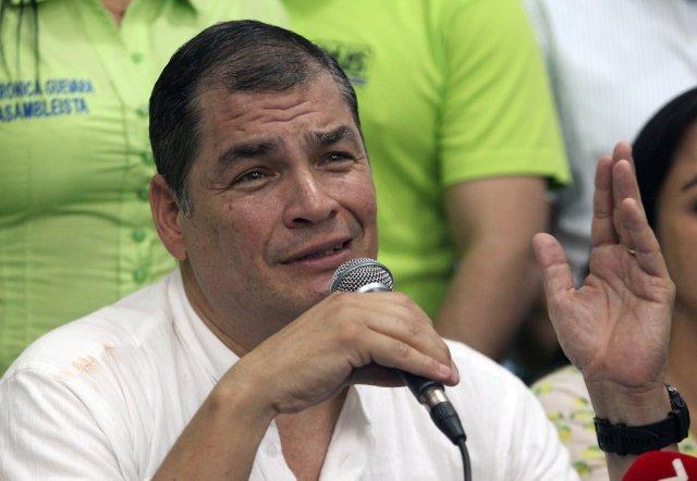 El expresidente de Ecuador, Rafael Correa. REUTERS/Daniel Tapia