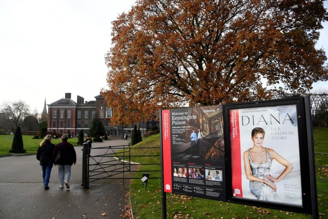 Britain's Kensington Palace, where Prince Harry and his fiance Meghan Markle will live when they are married, is seen in London, Britain November 27, 2017. REUTERS/Toby Melville