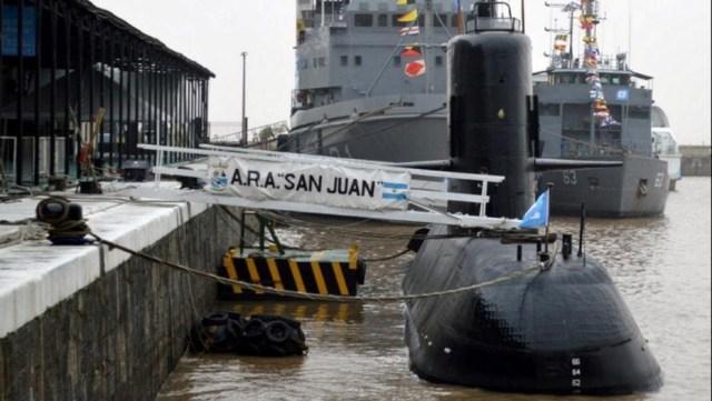 Submarino A.R.A. San Juan. (Armada Argentina)