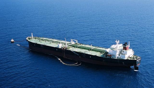 Referencial | Buque petrolero descarga en una de las boyas de descarga del LOOP en EEUU / cortesía