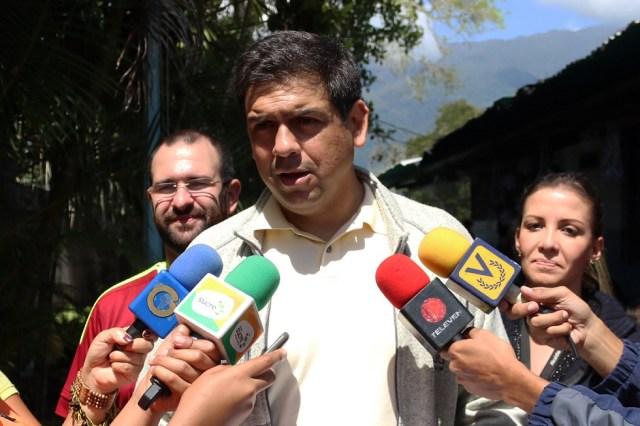 Carlos Ocariz, alcalde del municipio Sucre // Foto Prensa