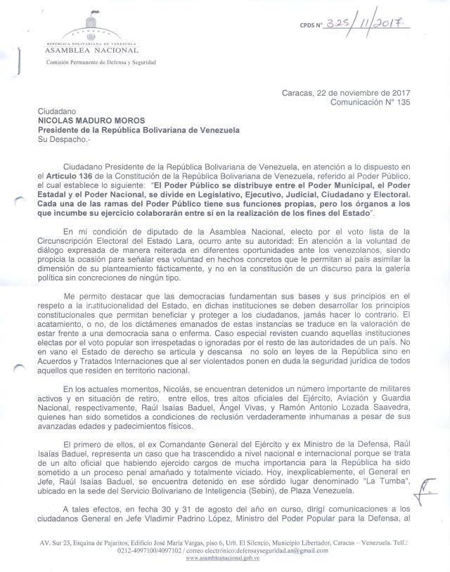 Carta a Presidencia 22-11-17 pag 1