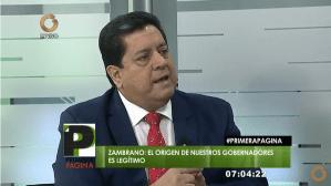 Edgar Zambrano dice que gobernadores de AD no reconocieron ni se subordinaron ante la Constituyente