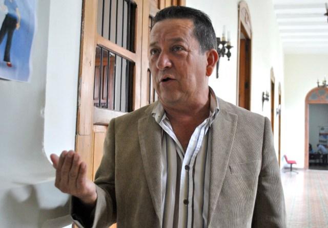 Gustavo Delgado rechazó que con esta ley el venezolano ya no pueda expresarse (Foto: Nota de prensa)