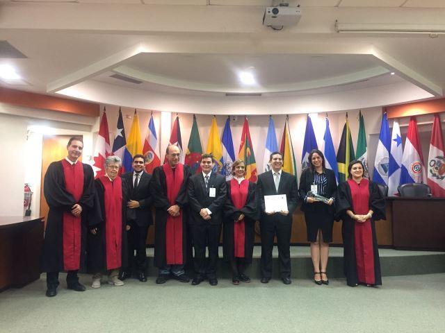 Es la primera vez que Venezuela obtiene el primer lugar en ante la Competencia Interamericana de Derechos Humanos Eduardo Jiménez de Aréchaga. Foto prensa