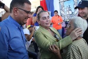 Eveling de Rosales apuesta al emprendimiento y apoya a familias de Maracaibo