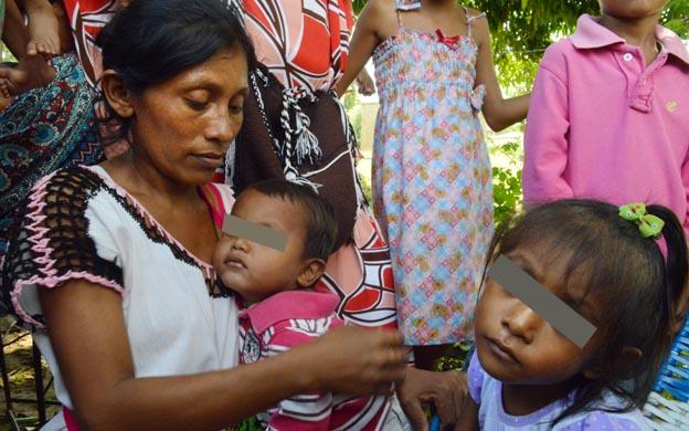 La pequeña niña vive en la parroquia Idelfonso Vásquez, de Maracaibo. (Foto: Tarquino Díaz)