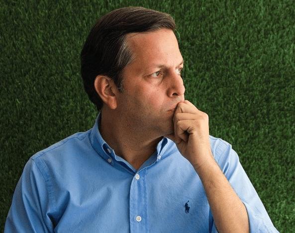 Foto: Jose Alberto Zambrano, candidato a la Alcaldía de Baruta
