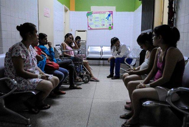 Embarazadas en Hospital de Barquisimeto - Foto: Stiven Valecillos / El Impulso