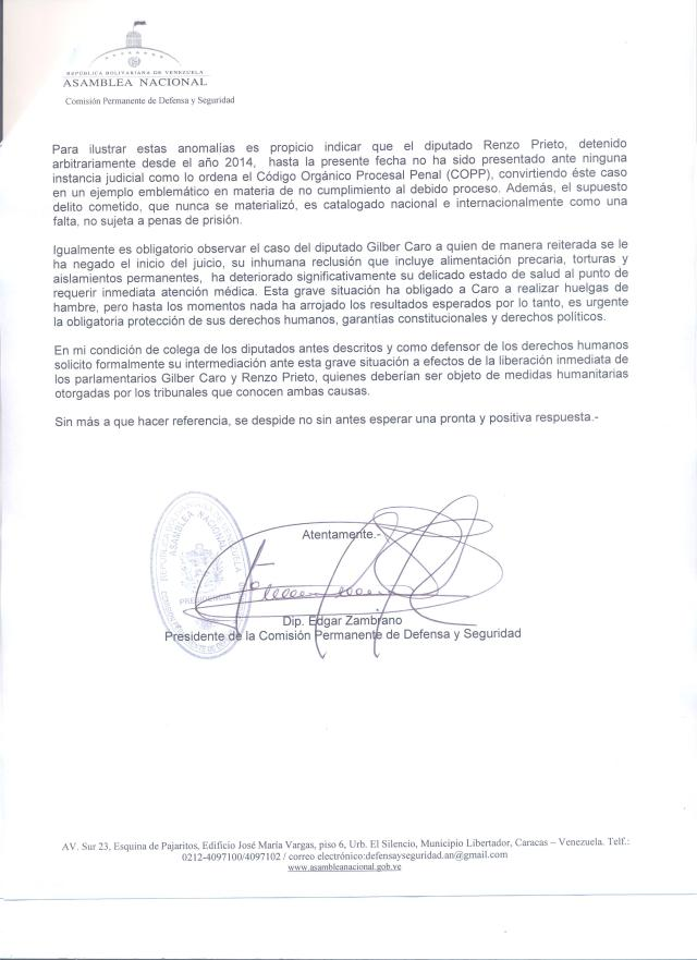 Presidente caso Gilberto Caro1