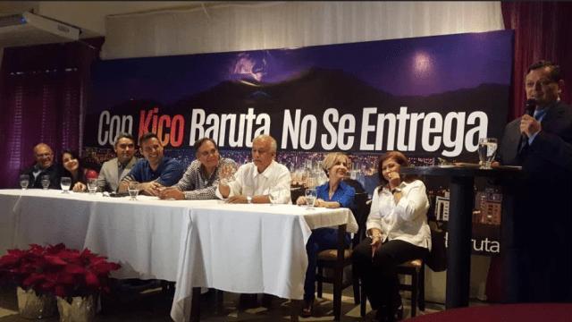 Inicio de campaña NDP. Kiko Bautista