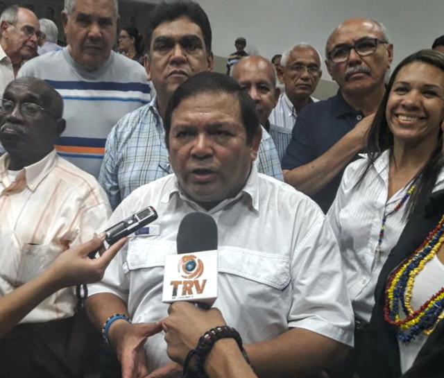 El excandidato a la gobernación de Bolívar, Andrés Velásquez