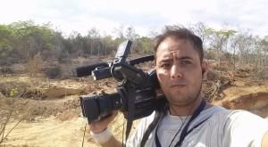 Reportero gráfico Jesús Medina fue trasladado al Palacio de Justicia este #31Ago