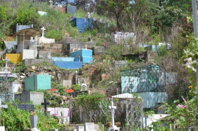 Cementerio General del Sur. Foto Archivo