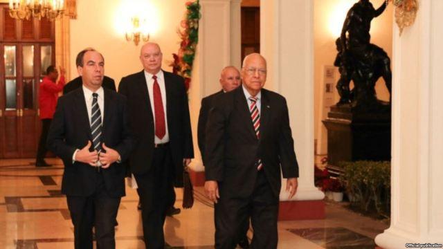 Delegación de Cuba en Miraflores / Foto: Martí Noticias
