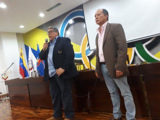 Eduardo Álvarez, presidente del Comité Olímpico de Venezuela (Foto: @PuntoOlimpico)