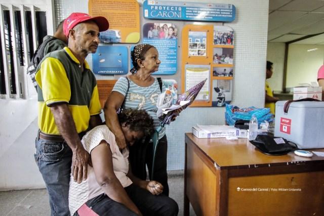 Carmen Salazar ha sufrido de paludismo nueve veces en lo que va de año