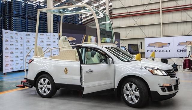 A solicitud de la Santa Sede, para la visita del Papa a nuestro país del 18 al 21 de enero del 2018, se modificó el auto. (El Comercio / Rolly Reyna)