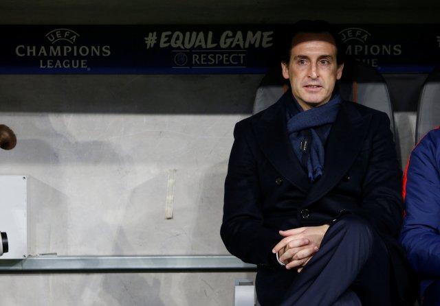 El entrenador del PSG, Unai Emery. REUTERS/Michaela Rehle
