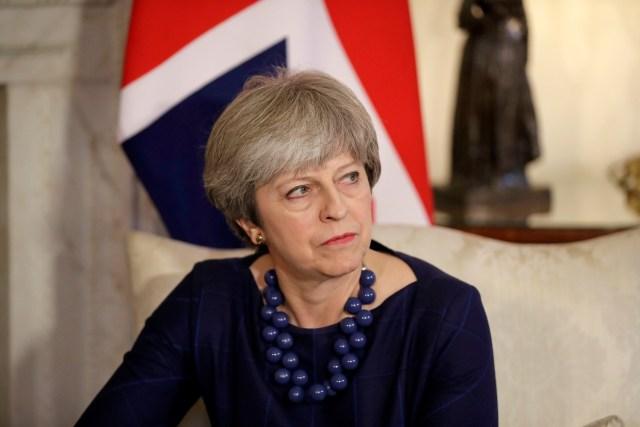 La primera ministra británica, Theresa May. REUTERS/Matt Dunham/Pool