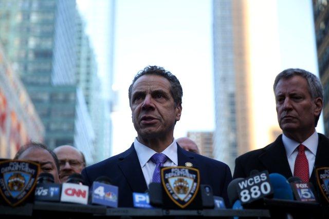 El gobernador de Nueva York, Andrew Cuomo. REUTERS/Amr Alfiky