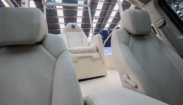 Los vehículos, ya utilizados en Colombia, son camionetas Chevrolet modelo Traverse con motores de V6 de 3.6 litros y 281 caballos de potencia. (El Comercio / Rolly Reyna)