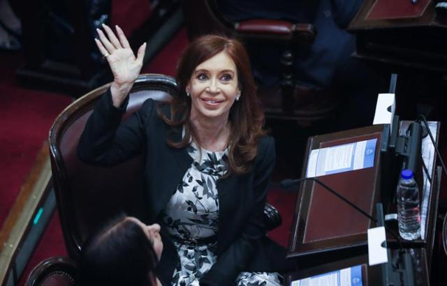 a expresidenta de Argentina Cristina Fernández de Kirchner (Foto: David Fernández / EFE)