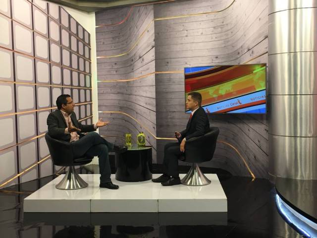 Diputado Regnault en entrevista Canal I