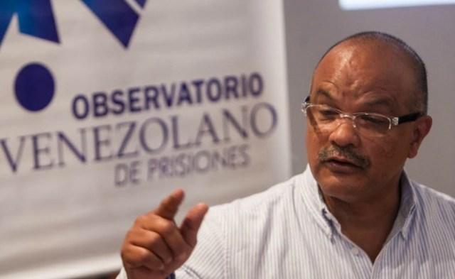 Humberto Prado, director del Observatorio Venezolano de Prisiones