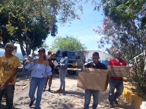 María Leonora Yañez: Nuestro dinero de campaña lo gastamos en ayudar a nuestra gente y no en pendones