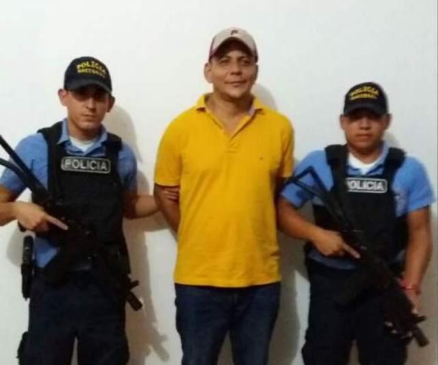 Roberto de Jesús Soto García el día de su detención /Foto archivo