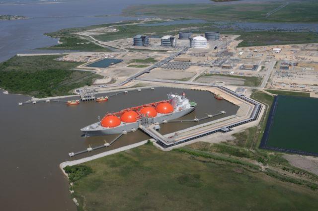Terminal gasífero Sabine Pass en el estado Texas en EEUU / cortesía
