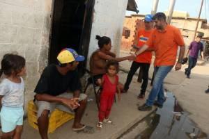Niños de Santa Rosa disfrutaron jornada recreativa junto a Manuel Ferreira