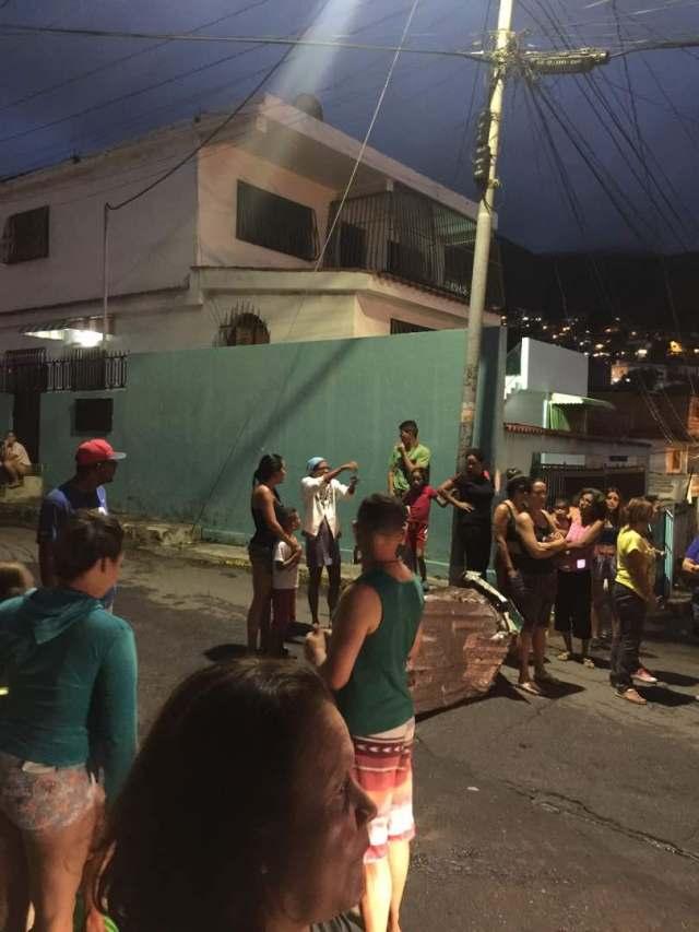Protesta en Maiquetía