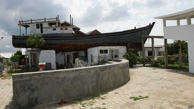 La embarcación se ha convertido en una atracción popular - AFP